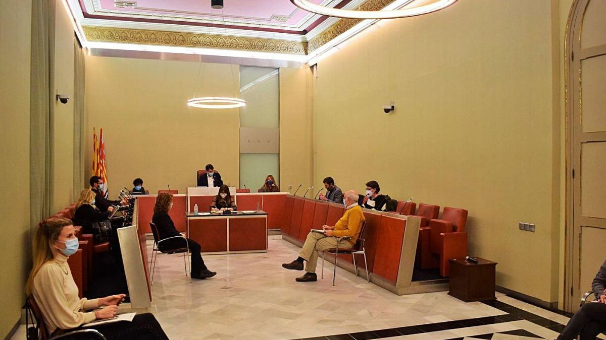 Ple de l'Ajuntament d'Igualada