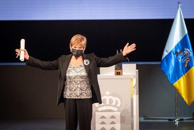 Ceremonia de entrega de los Premios Canarias 2021