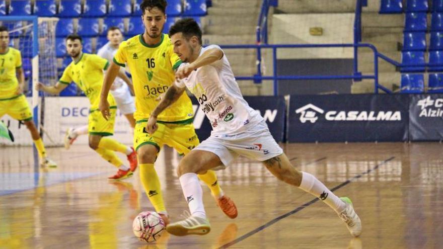 El Alzira FS deja buen sabor frente a un equipo de primera