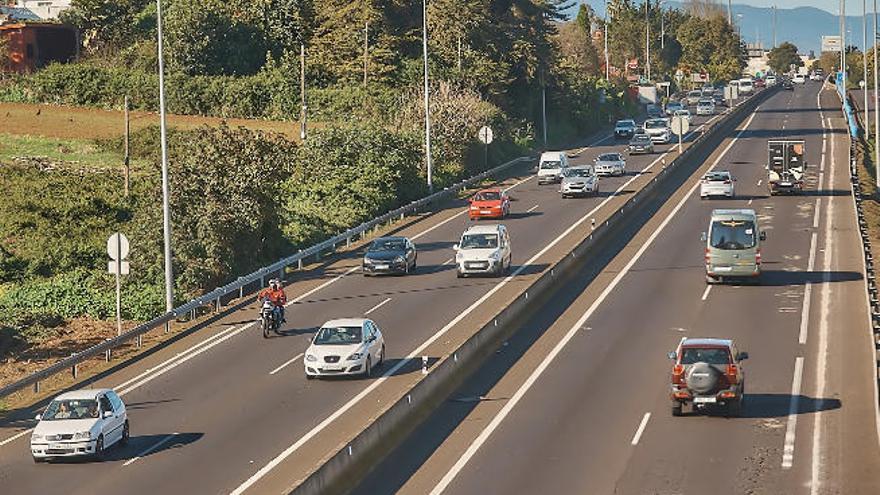 CC reclama que se licite el reasfaltado de las autopistas de Tenerife de forma urgente