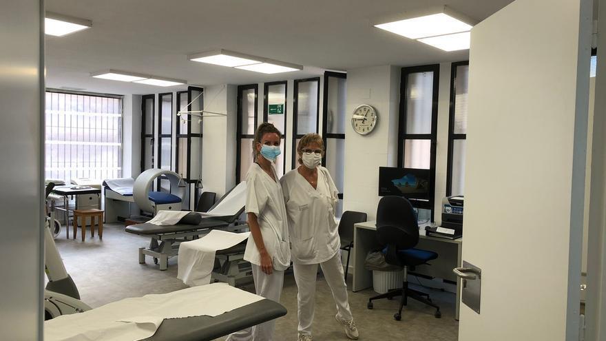 Así es la nueva sala de rehabilitación del centro de salud de Santa Pola