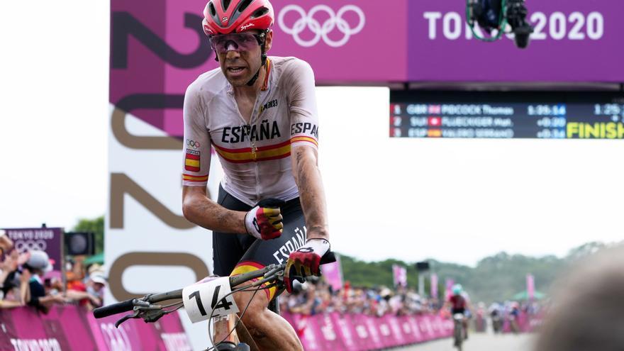 Segunda medalla para España: David Valero, bronce en mountain bike