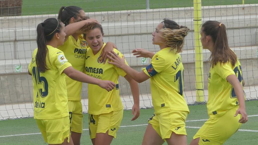 El Villarreal femenino quiere celebrar hoy el ascenso a Primera División