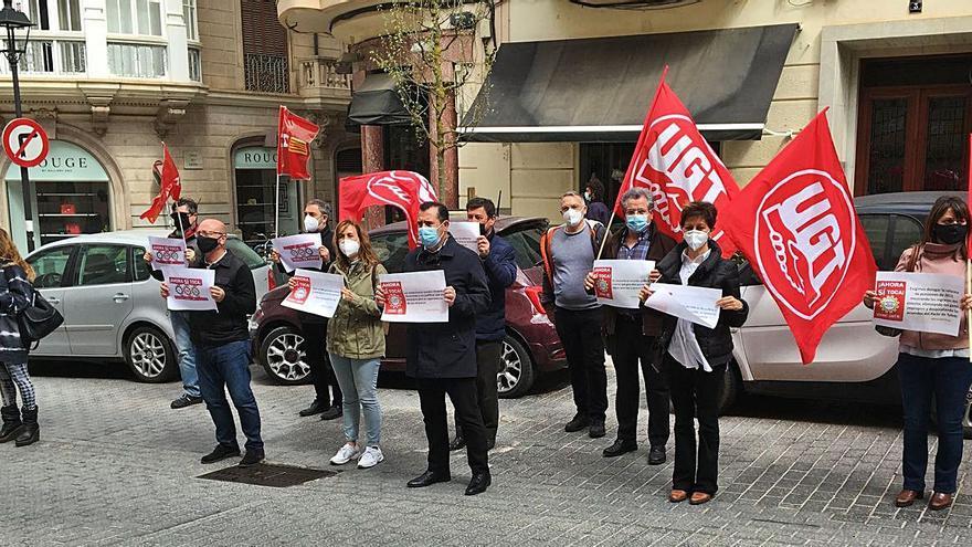Protesta en Palma contra la reforma laboral