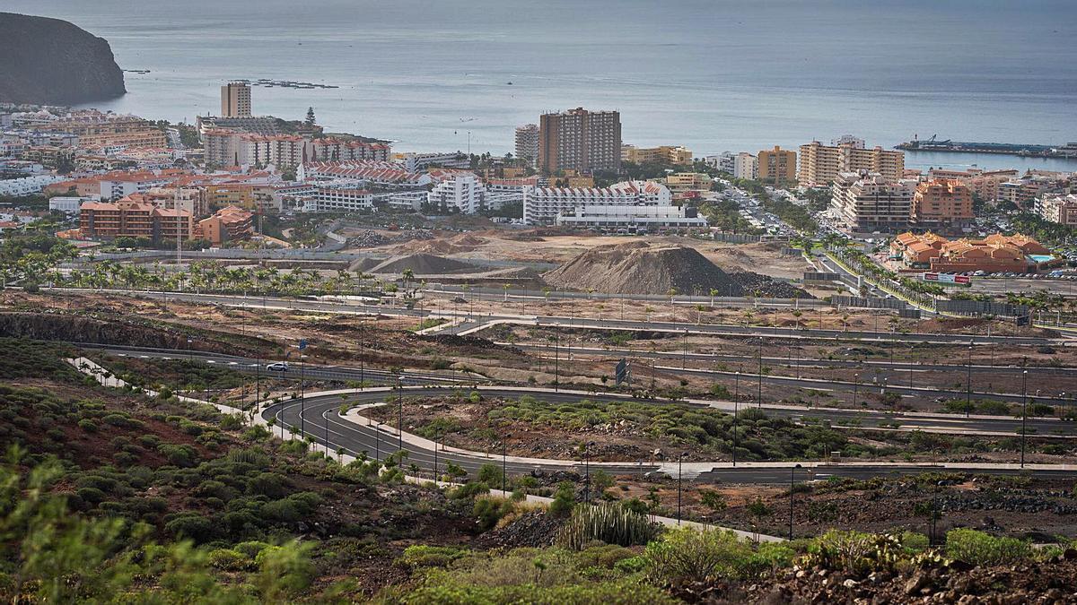 Vista panorámica del plan parcial El Mojón.