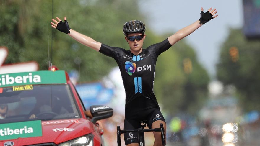 Storer vuelve a ganar en Rincón de la Victoria y Eiking es el nuevo líder de La Vuelta