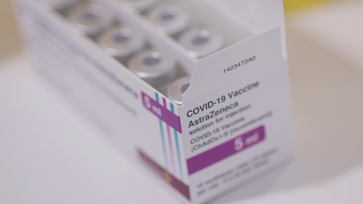 AstraZeneca coronavirus vaccines.
