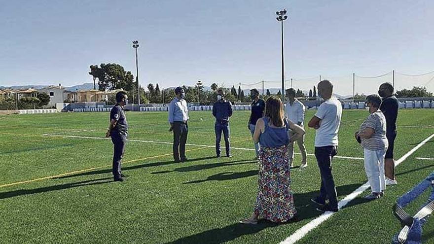 El IME renueva las instalaciones deportivas de Palma