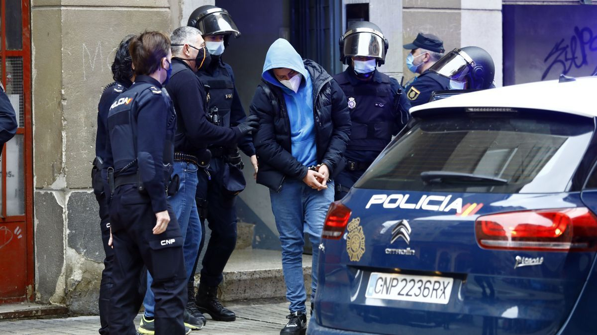 Detención de un presunto miembro de un pandillero de Doninican Don't Play, en Zaragoza.