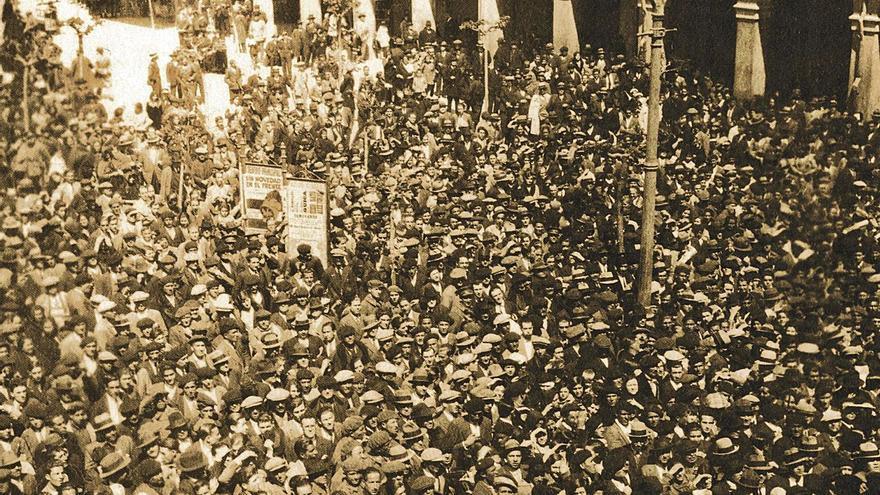 90 años de la II República: el júbilo tricolor en las calles de Zamora