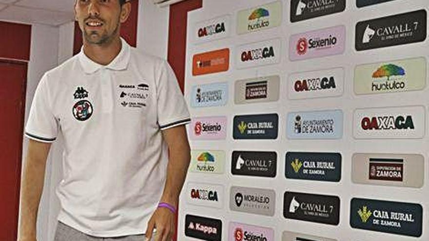 Carlos Ramos, jugador del Zamora CF.