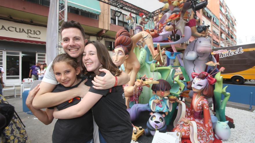 Cierra por la crisis el taller del autor de la hoguera Especial infantil ganadora en 2018 y 2019