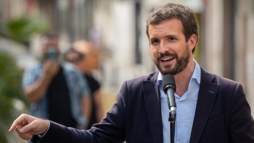 """Casado pide elecciones """"de inmediato"""" en Cataluña"""