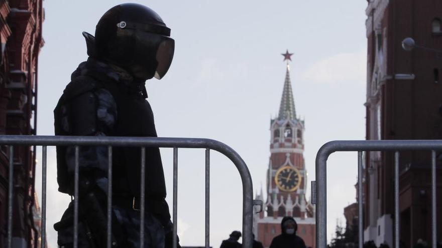Rusia defiende su decisión de expulsar a tres diplomáticos europeos