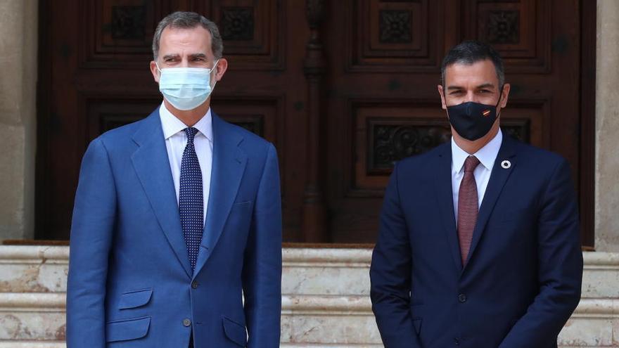 Sánchez rebutja desvetllar on és Joan Carles I i afirma que comunicar-ho correspon a la Casa Reial o al «propi afectat»