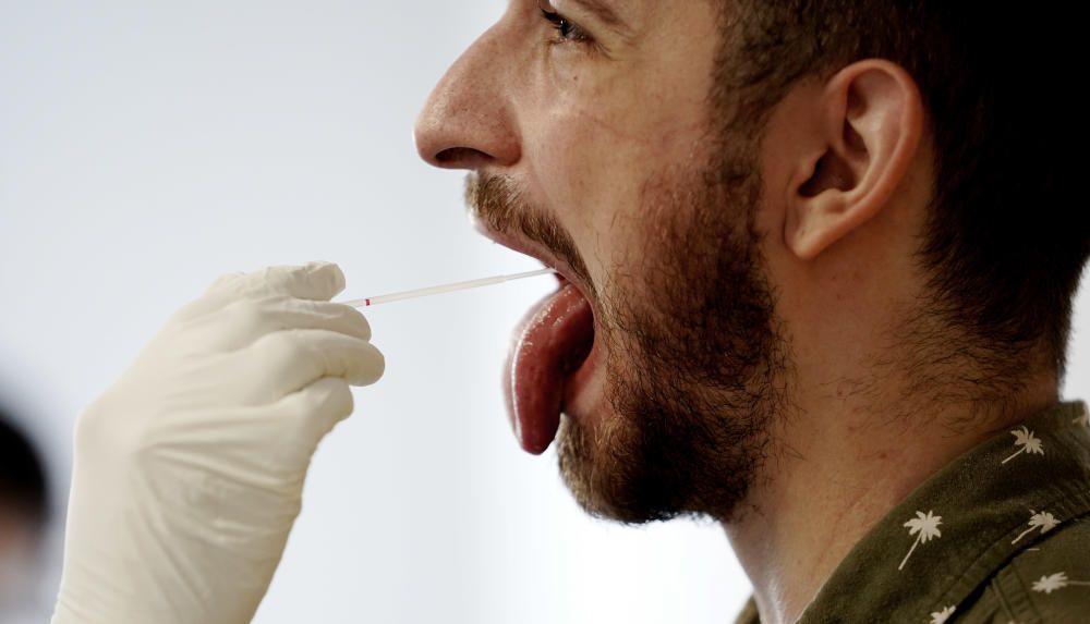 Pruebas PCR aleatorias en Madrid