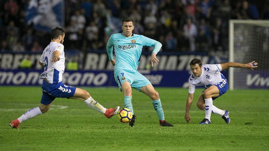 El Barcelona B asalta el Heliodoro y deja tocados al Tenerife y a Pep Martí