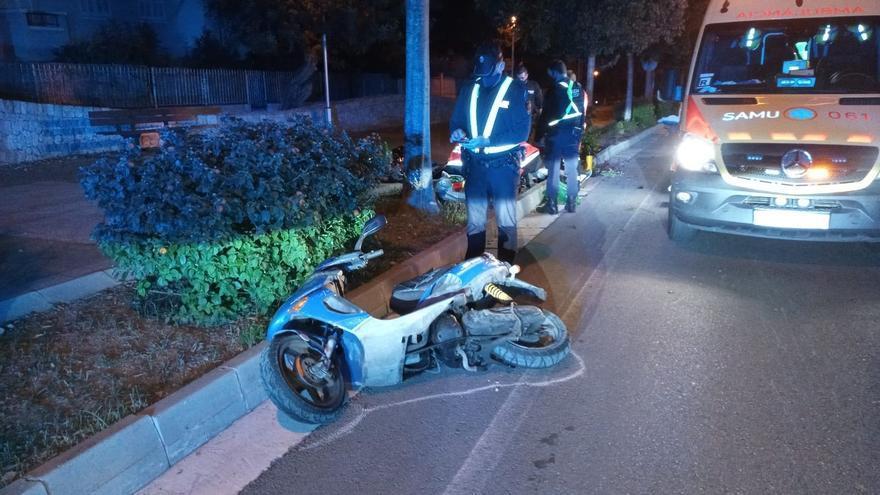 Un hombre de 48 años muere en  un accidente de moto en El Toro