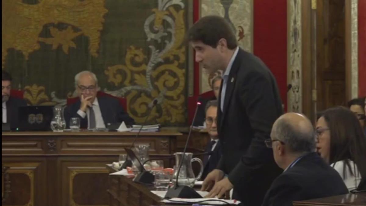 El edil socialista Raúl Ruiz
