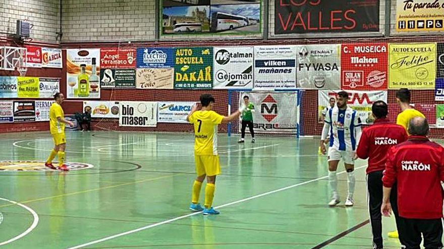 El Atlético Benavente cumple en su último test
