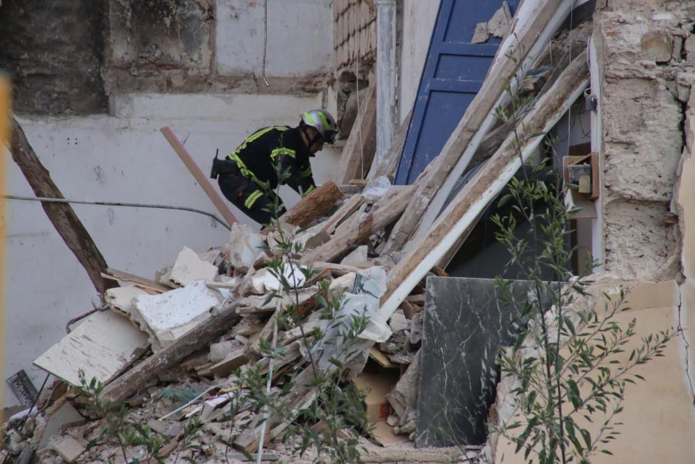 Aparece muerta la mujer desaparecida en el derrumbe de un edificio en Alcoy