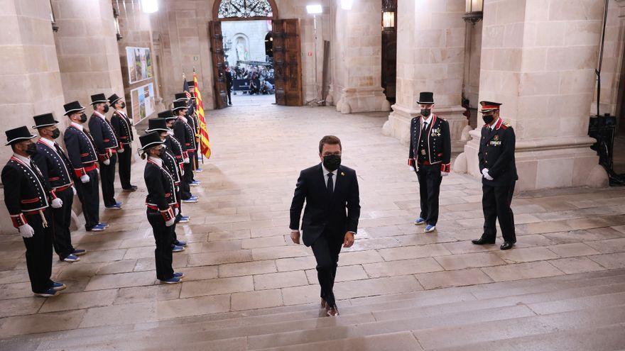 El Govern redueix el sou d'Aragonès en un 15%