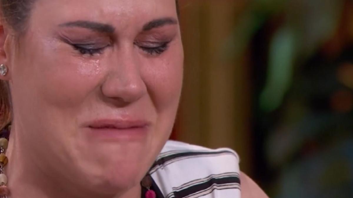 Tamara confiesa su drama personal cuando anuncian que será la primera expulsada de Masterchef
