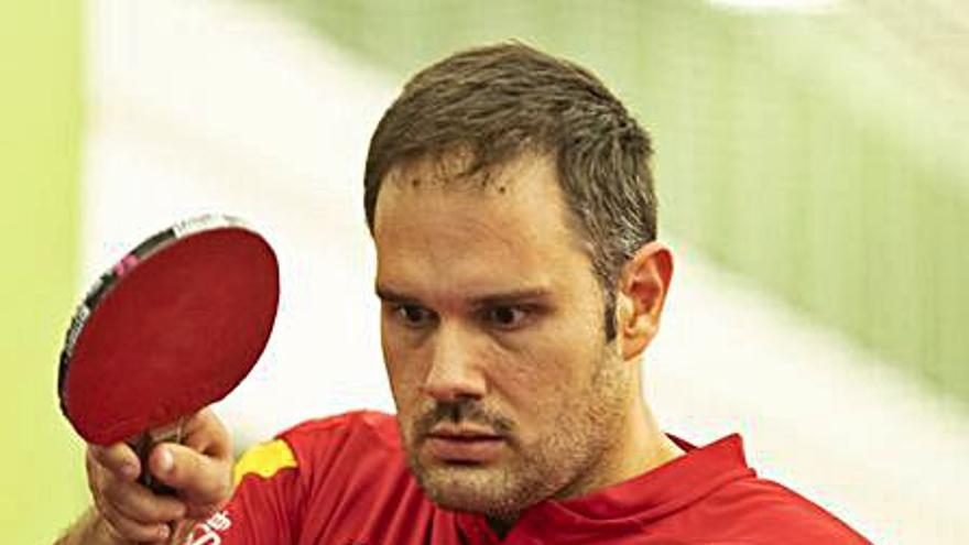 Jordi Morales cau als quarts de final del tennis taula i queda eliminat