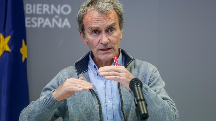 """Simón: """"No me consta que lo datos de la Comunidad de Madrid sean falsos"""""""
