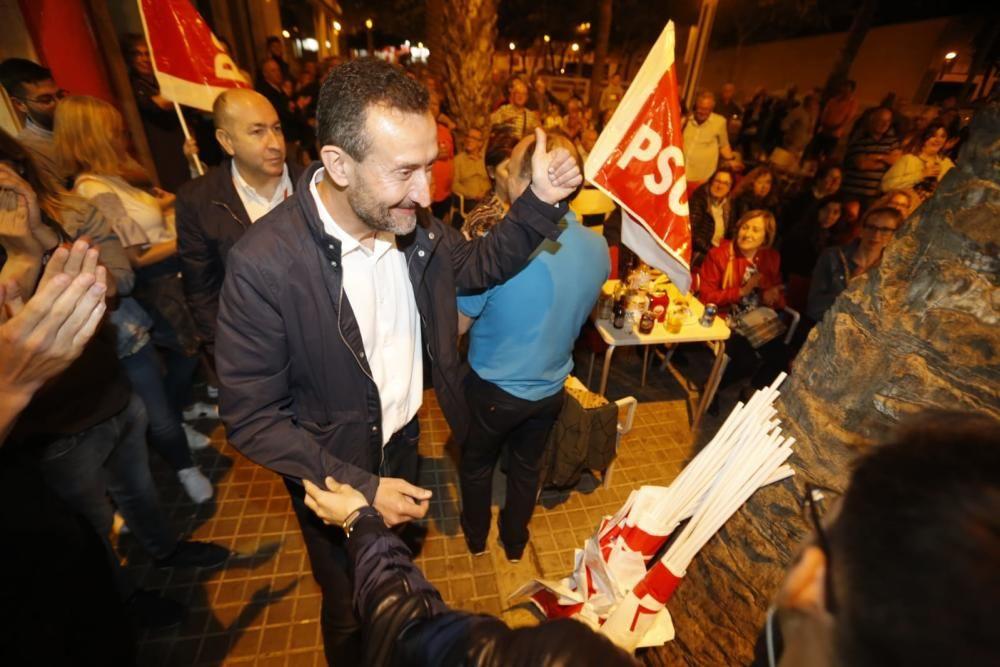 El PSOE gana las elecciones en Elche