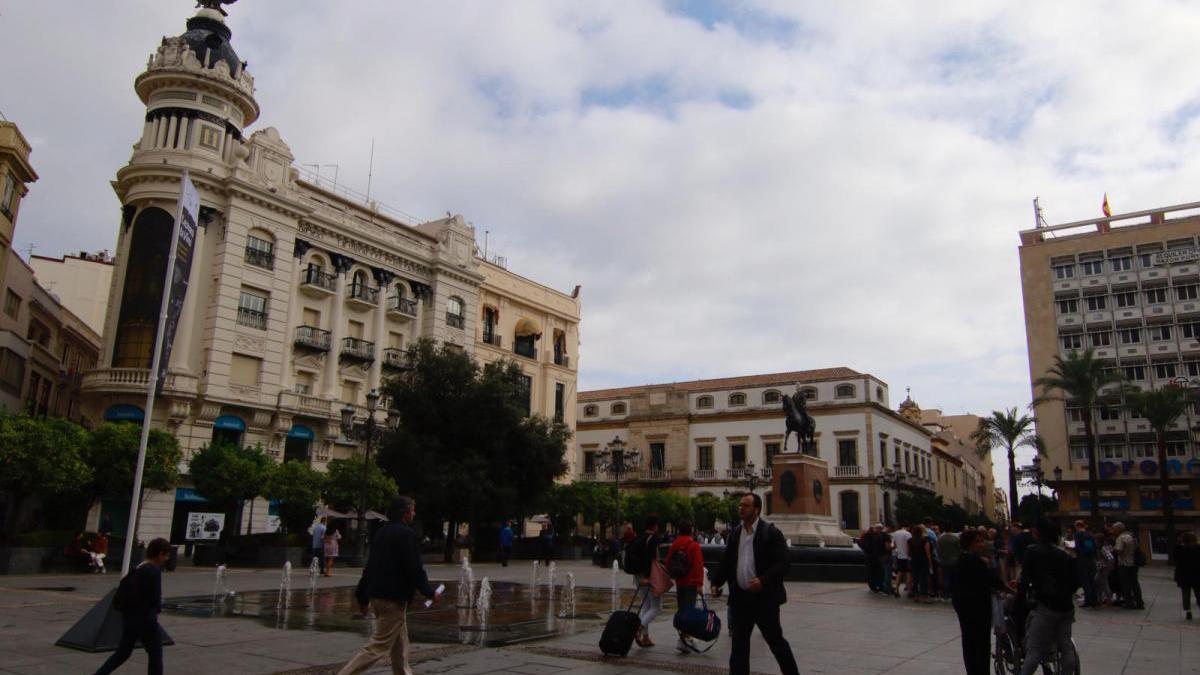 Cielos nubosos sobre Córdoba.