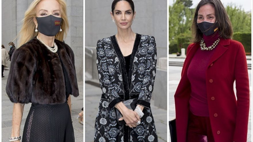 Carmen Lomana, Eugenia Silva o Inés Sastre, derroche de glamour en el Teatro Real