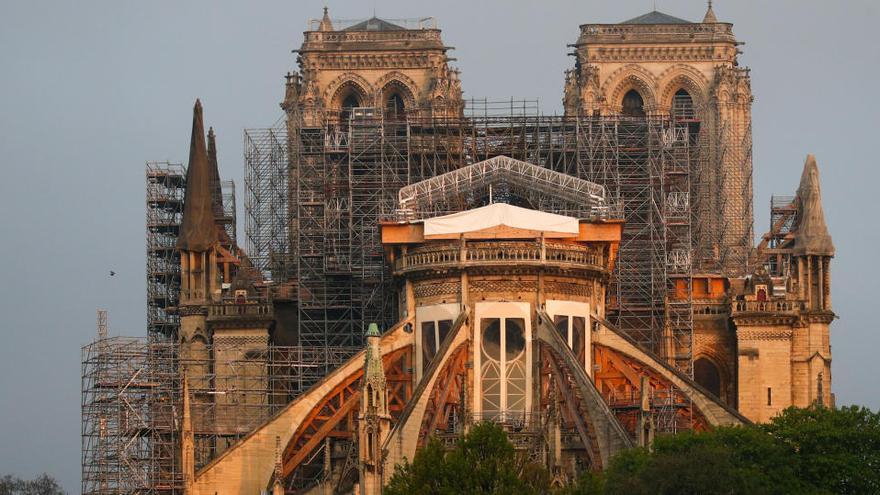 """El rector de Notre Dame: """"Todavía no sabemos cuánto costará reconstruirla"""""""