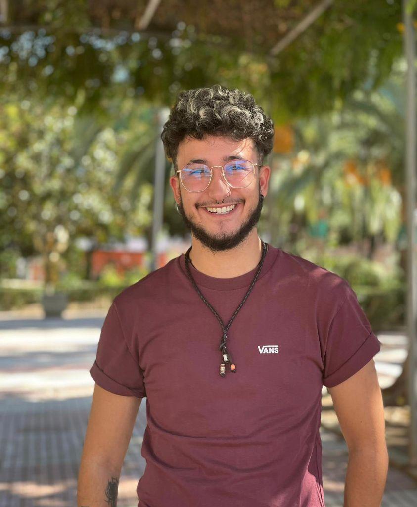 Mark Noriega Gómez, joven trans de 23 años que es de Guadiana pero reside en Cáceres.