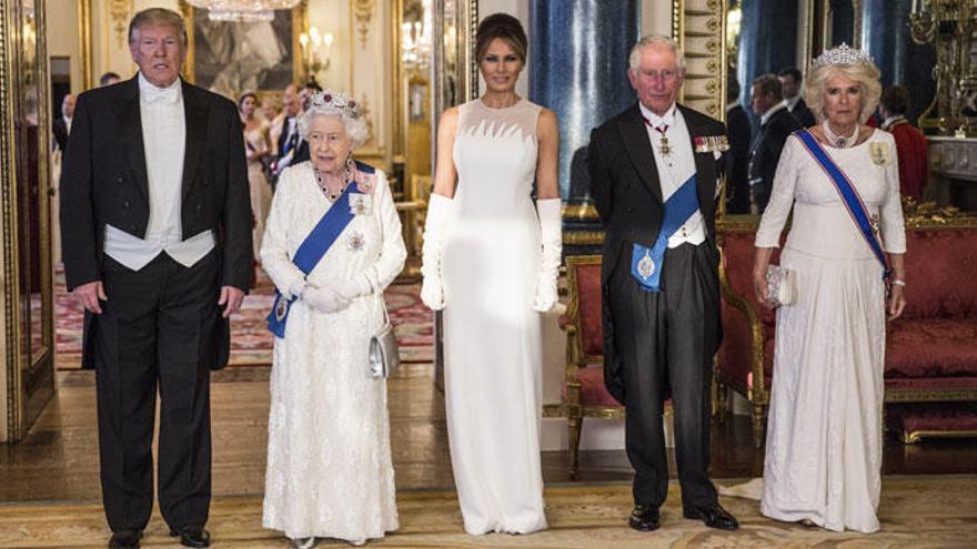 Duelo en Buckingham Palace: Kate Middleton eclipsa a Melania Trump con un 'look' con mensaje