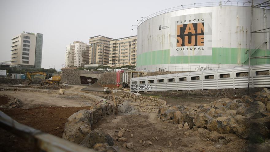 Cultura invierte medio millón en recuperar el entorno de El Tanque