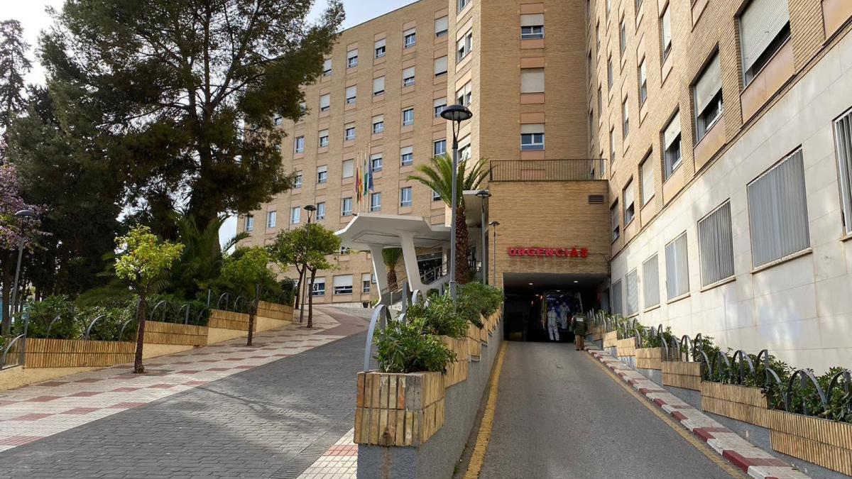 Los accesos al Hospital Regional, el de mayor capacidad de toda la provincia.