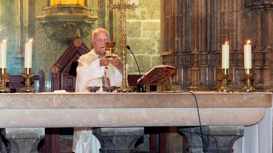 Fallece Manuel Soler, canónigo de la catedral desde 1995