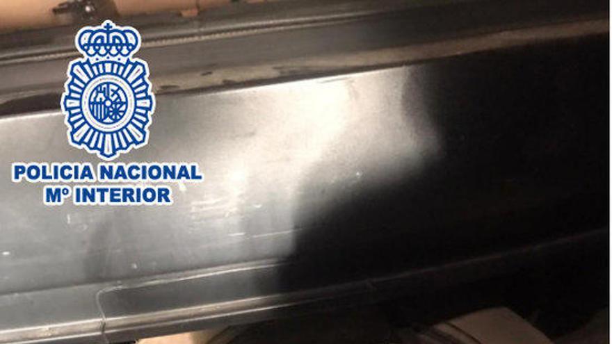 La Policia Nacional deté dues persones relacionades amb el narcotràfic, una a la Jonquera