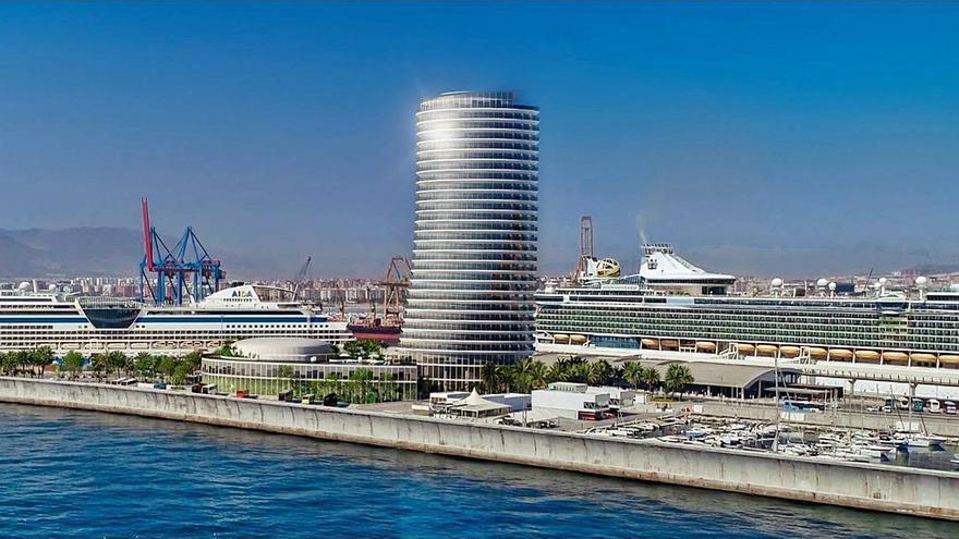 De la Torre califica de «chocante» la decisión del Gobierno sobre la torre del Puerto