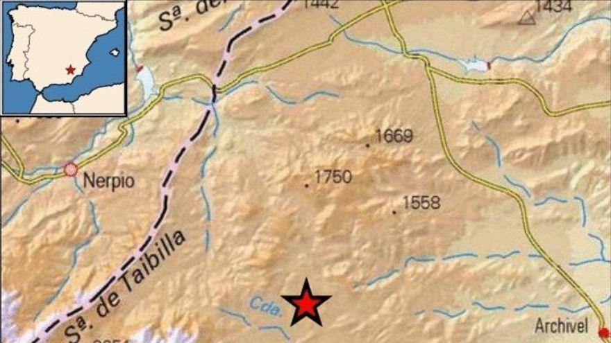 Ocho terremotos, uno de ellos de 3,1 grados, en tan solo cuatro horas en Murcia
