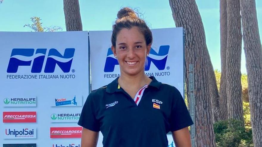 María de Valdés, bronce en los 2,5k del Campeonato Italiano de Aguas Abiertas