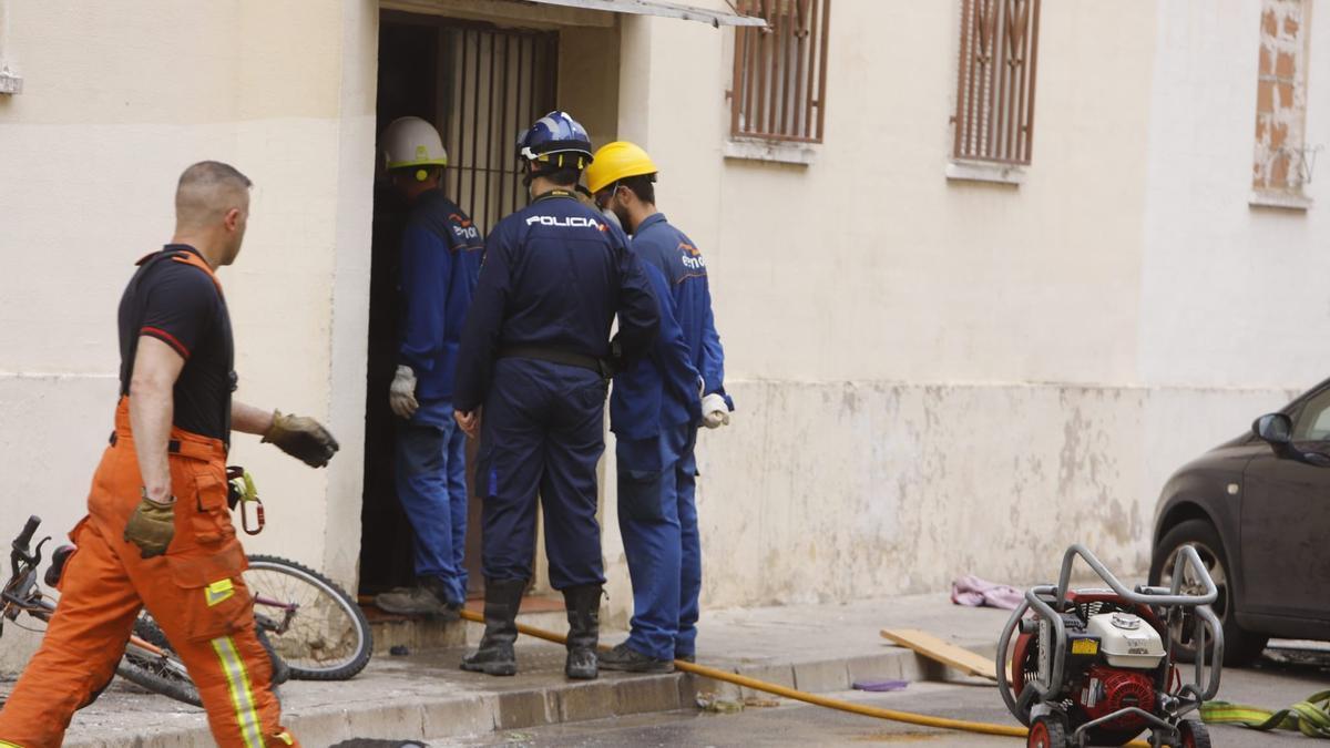 Incendio en Algemesí con un muerto y tres heridos