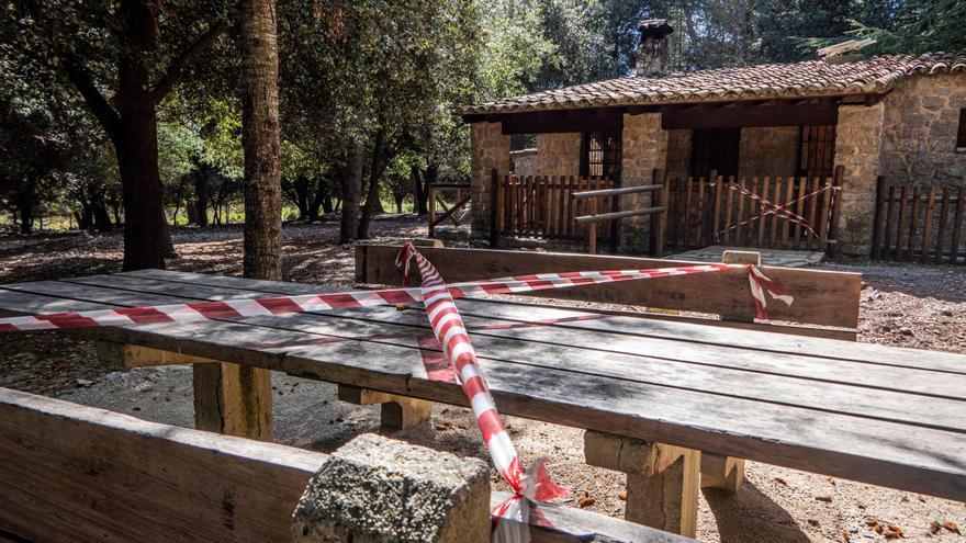 Cierre de áreas recreativas de la Serra por «riesgo de masificación»