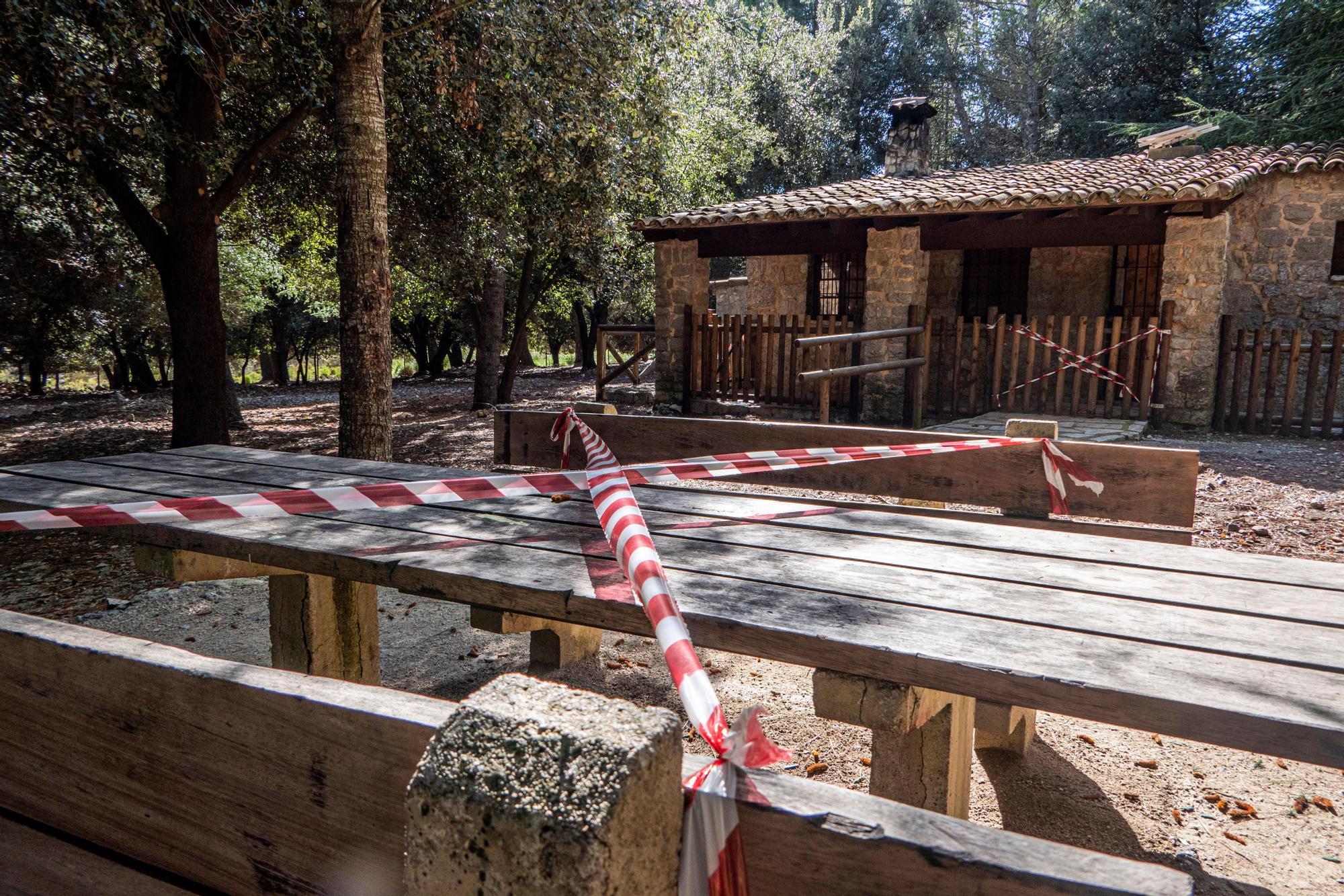 """Cierre de áreas recreativas de la Serra por """"riesgo de masificación"""