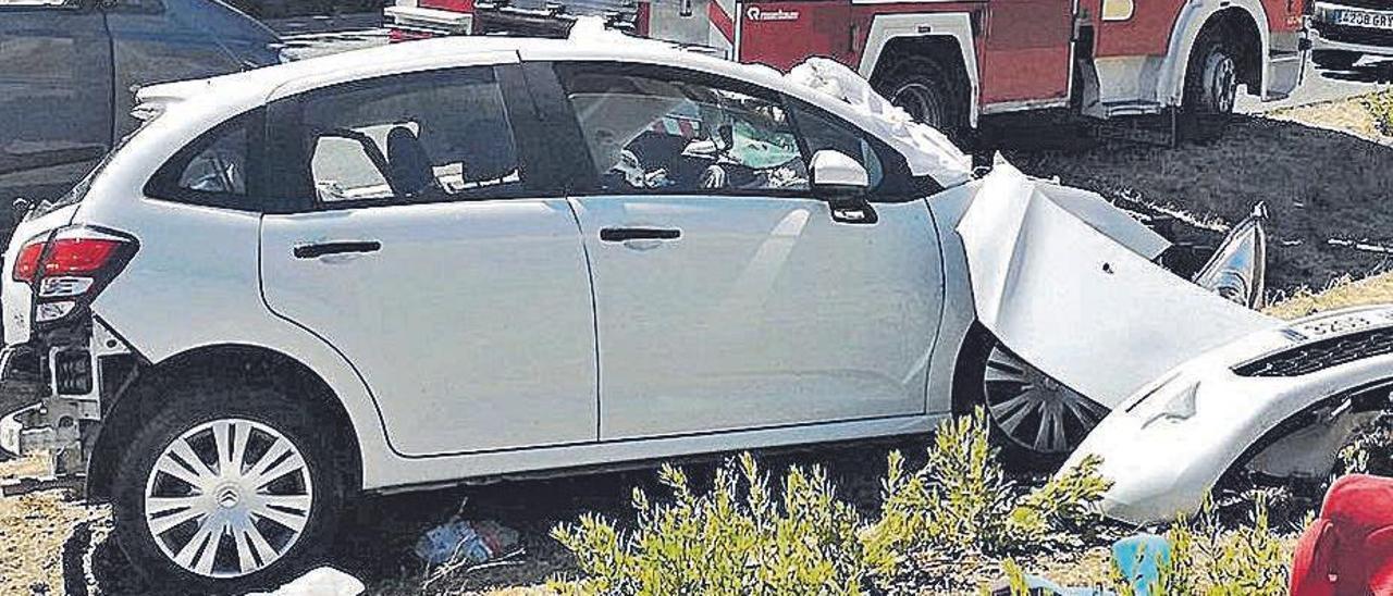 Imagen de archivo de un accidente de tráfico. | D.I,