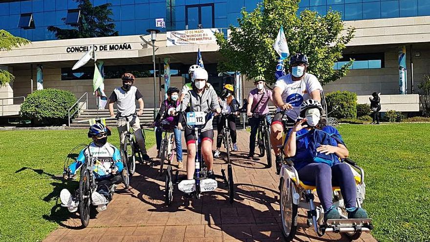 Ruta para estudiar las necesidades de los ciclistas