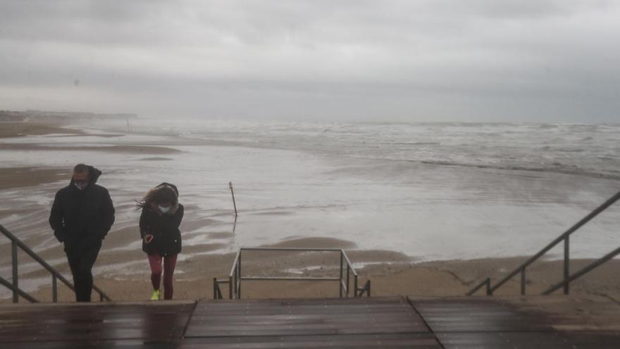El tiempo en Valencia hoy: Lluvias fuertes o persistentes en la Comunitat Valenciana