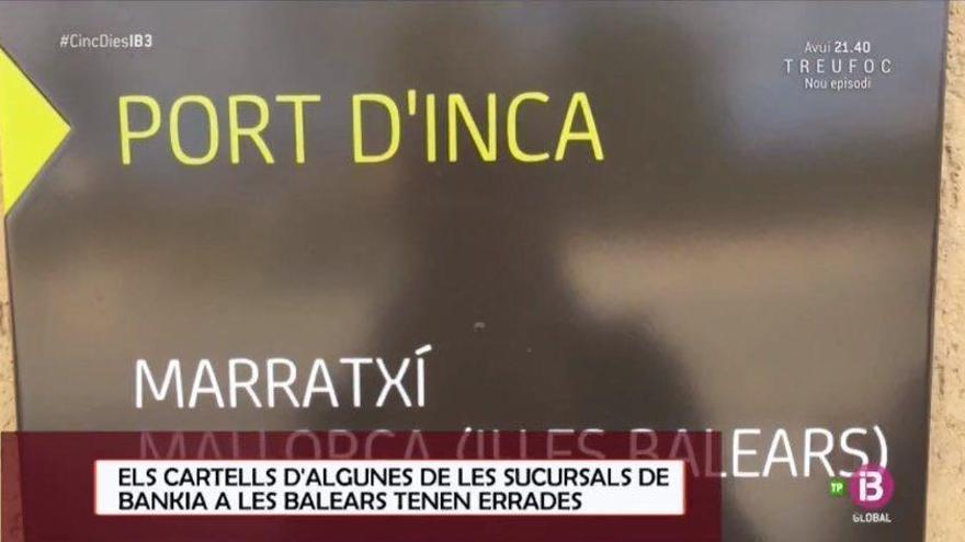 Fettes Fettnäpfchen: Madrider Bank schreibt Ortsnamen der Mallorca-Filialen falsch