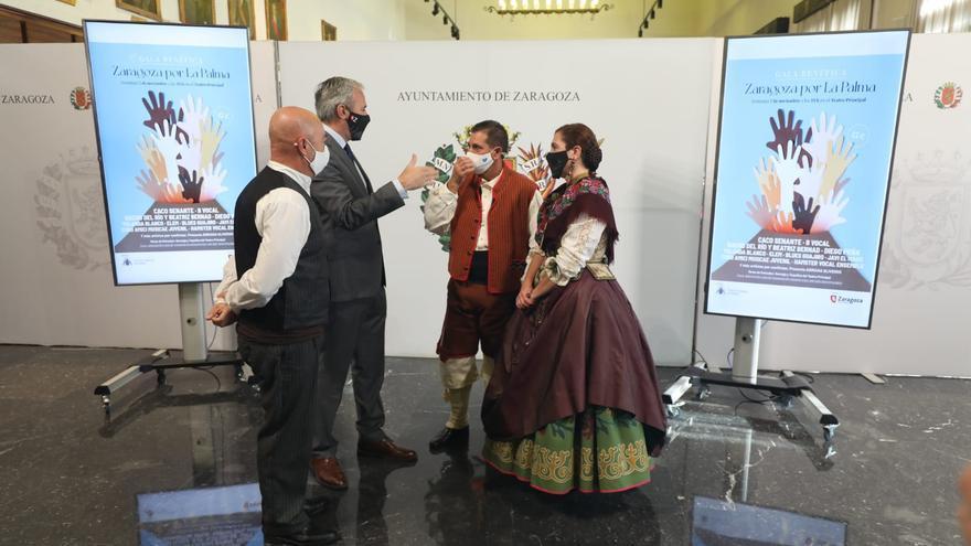 Zaragoza organiza una gala benéfica en el Teatro Principal para ayudar a los damnificados por el volcán de La Palma